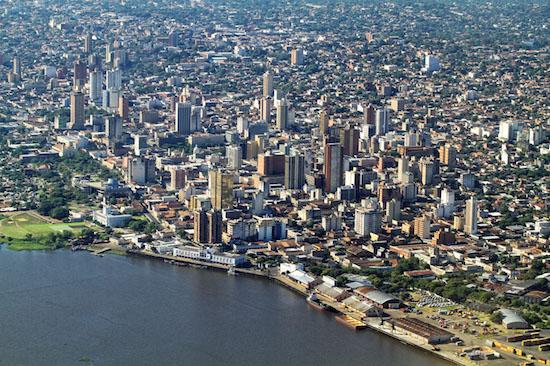 Les Grandes Villes au Paraguay susceptibles!