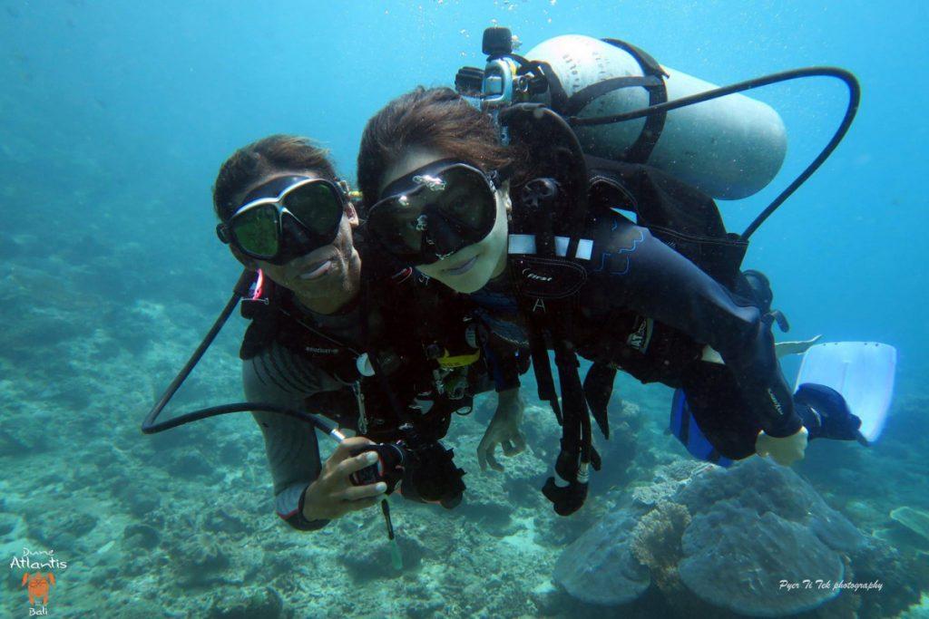 VotreBaptême Plongée Bali, une exploration d'un autre monde
