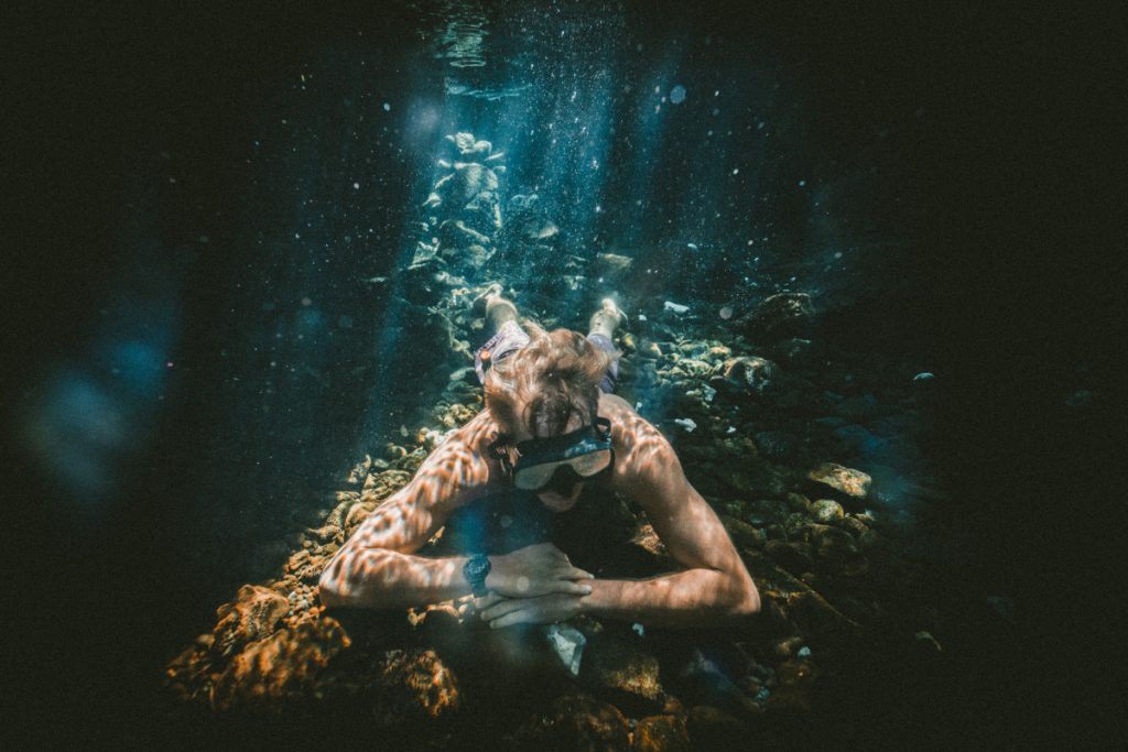 Plongée en apnée au lieu de plongée Bali Tulamben?