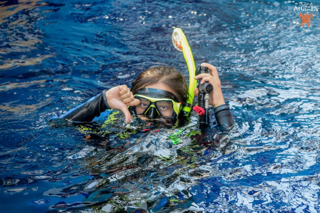 Plongée Tulamben pour les enfants: ce qu'il faut regarder