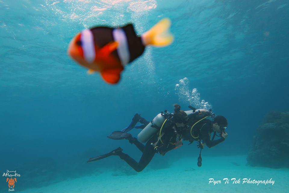 Vivez pleinement votre baptême de plongée à Bali