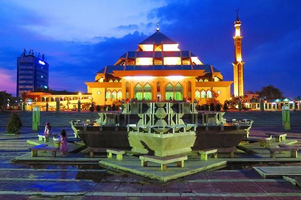 Batam, une ville en Indonésie comme le pont entre le Singapour !